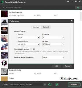 TunesKit Spotify Converter Keygen